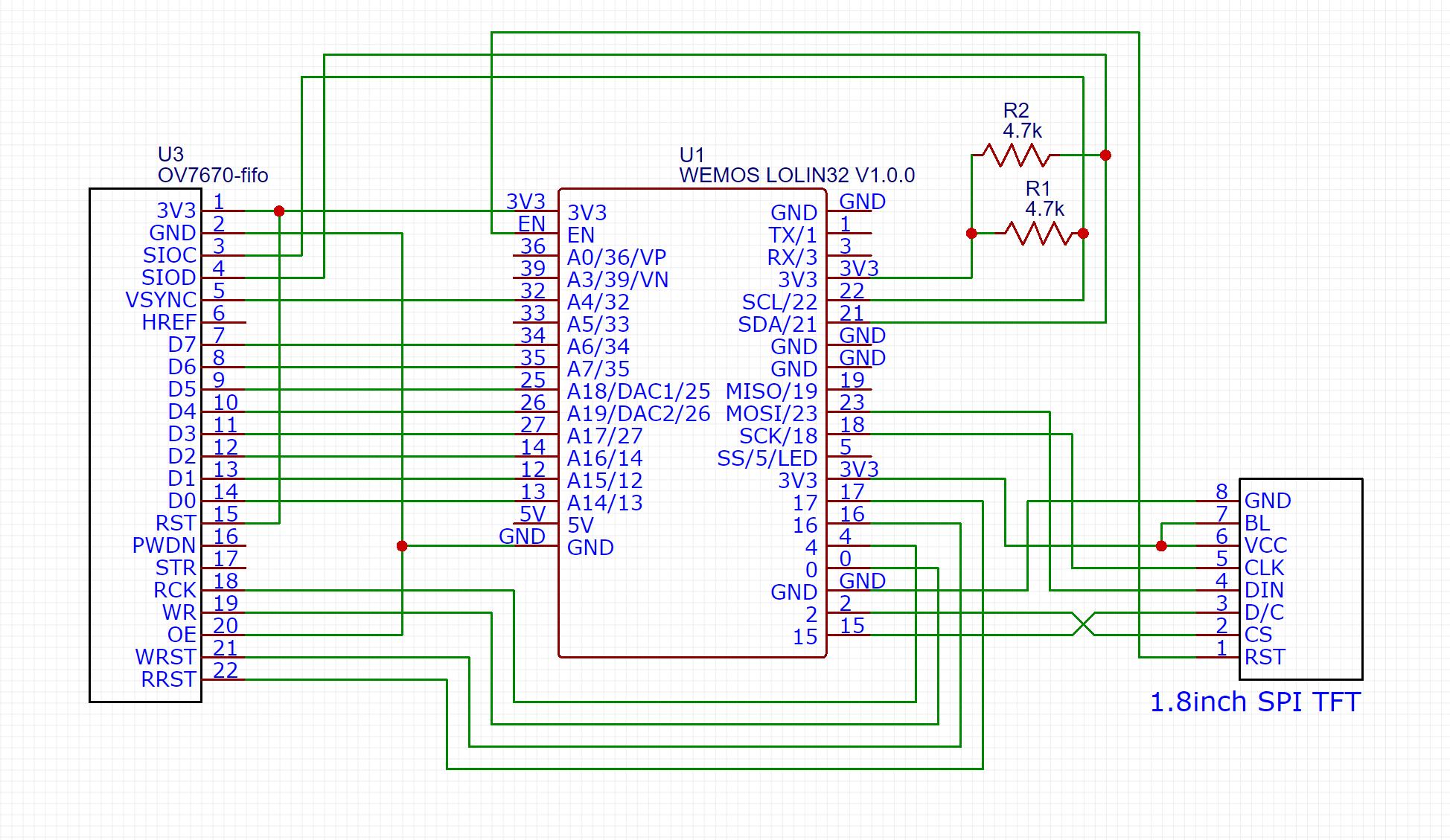 OV7670 with FIFO – bitluni's lab