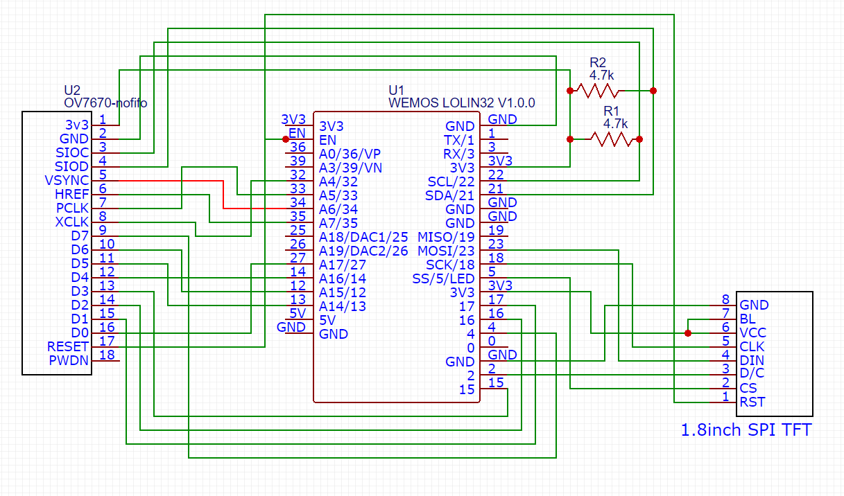 ESP32 I2S Camera (OV7670) – bitluni's lab